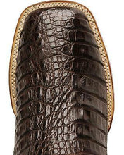 Load image into Gallery viewer, DAN POST #DP2806 | MENS CAIMAN ALLIGATOR CHOCOLATE BROWN