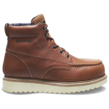 Load image into Gallery viewer, Wolverine W08289 Men's Moctoe Steel Toe EH Brown