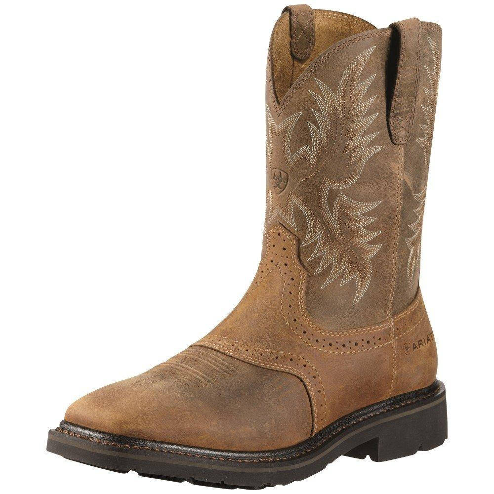 Ariat 10010134 Mens Sierra Slipon Steel Toe Boot