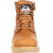 Load image into Gallery viewer, Georgia #G6152   Men's Wedge Work Boot Soft Toe Barracuda Gold