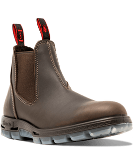 Redback Men's Great Barrier Unpu Puma Brown Aquapel Work Boot