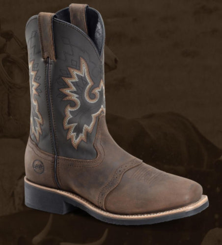 DOUBLE H # DH4258 | MENS WESTERN BOOTS  BROWN