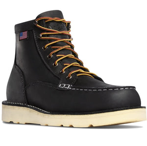 DANNER #15569 MENS BULLRUN STEEL TOE BOOT BLACK