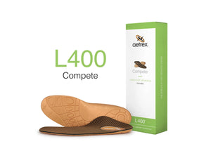 Aetrex Men's L400 Compete Med/High Arch Orthotic
