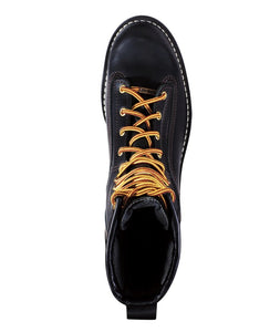 DANNER #14100 MENS RAINFOREST SOFT TOE BOOT BLACK