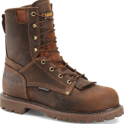 MEN'S SAFETY AND STEEL TOE WORK BOOTS