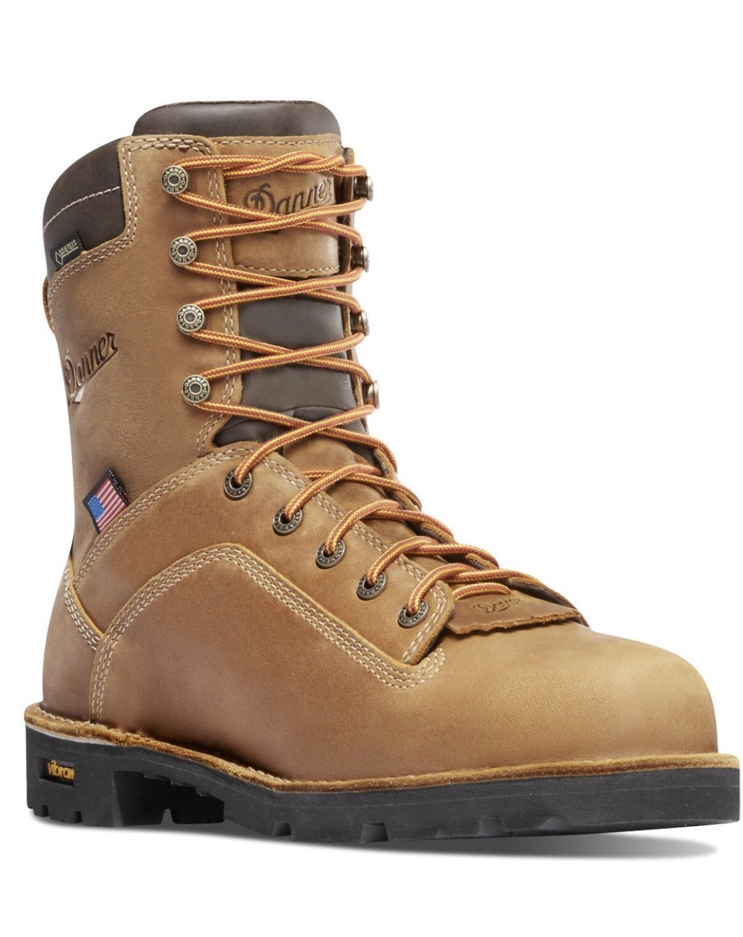DANNER #17317 | MENS MENS 8IN QUARRY BT DIST BROWN