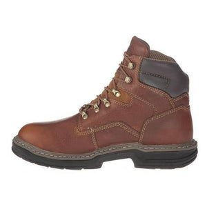 "WOLVERINE #W02421 MENS RAIDER 6"" SOFT TOE WORK BOOT"
