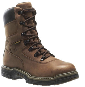 "WOLVERINE #W02163 MENS MARAUDER INSULATED STEEL TOE 8"" WORK BOOT"