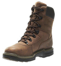 "Load image into Gallery viewer, WOLVERINE #W02163 MENS MARAUDER INSULATED STEEL TOE 8"" WORK BOOT"