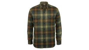 Wolverine W1201970-324 Mens Grove Plaid Flannel