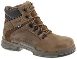 "WOLVERINE #W10214 MENS GRIFFIN 6"" SOFT TOE WORK BOOT"