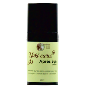 Eine Yuki cares Aprés Sun Lotion 30ml.