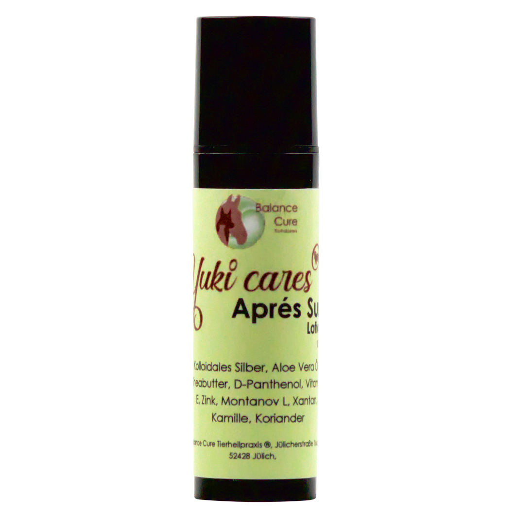 Eine Yuki cares Aprés Sun Lotion 15ml.