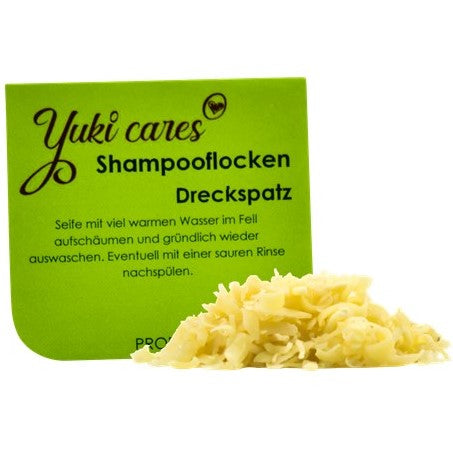 10g Dreckspatz Shampooflocken Probe