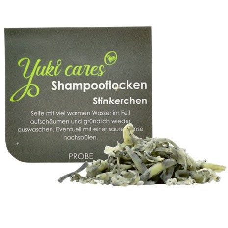 10g Stinkerchen Shampooflocken Probe