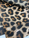 Leopard print faux leather sheets listing 1555