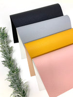 Litchi texture faux leather sheets Sm-8038