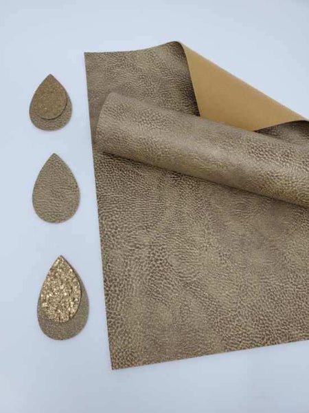 #5. Metallic faux leather sheets. H2068