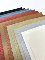 Wholesale 14 sheets. Texture and smooth faux leather sheets