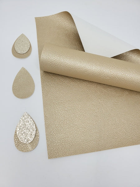 #6. Metallic faux leather sheets H2068