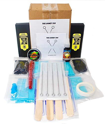 Hand Poke and Stick Tattoo Kit - Clean & Safe Stick & Poke Tattoos: Beauty