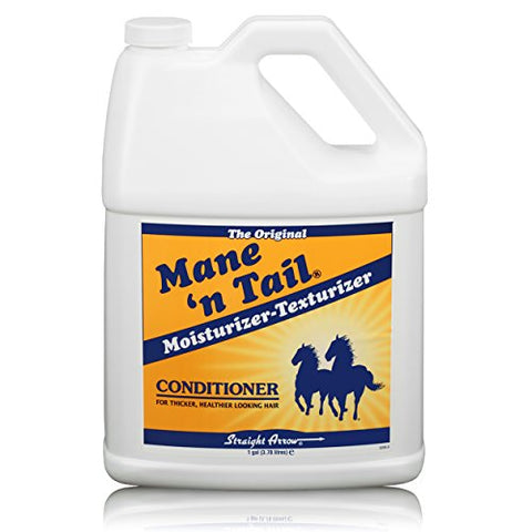 Mane 'n Tail Moisturizer Texturizer Conditioner for Thicker Healthier Looking Hair and Coats Gallon