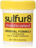 Sulfur8 Medicated Regular Formula Anti-Dandruff Hair and Scalp Conditioner, 2 Ounce : Beauty