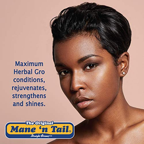 Mane 'n Tail Herbal Gro NATURAL CONDITIONER FOR HAIR & SCALP Pomade 5.5 Ounce