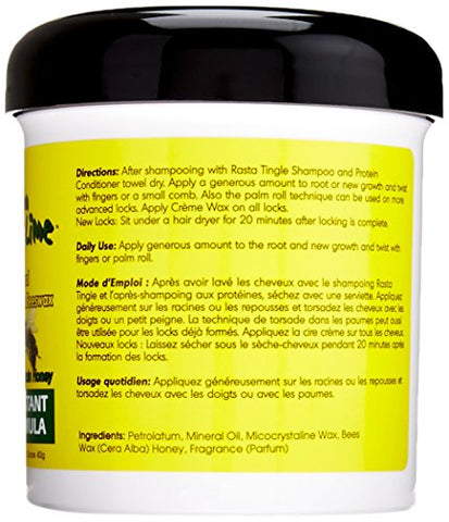 Jamaican Mango and Lime Locking Firm Hair Wax, 16 Ounce