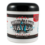 Roller Coaster Waves - Premium Hair Pomade For High Definition Waves + Smooth Texture, 6 Ounces