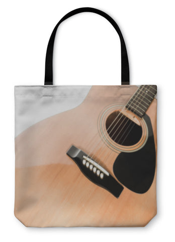 Tote Bag, Acoustic Guitar