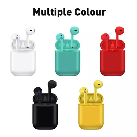 new Colorful i18 tws wireless Bluetooth 5.0 earbuds binaural call with charging box noise reduction stereo Bluetooth headset