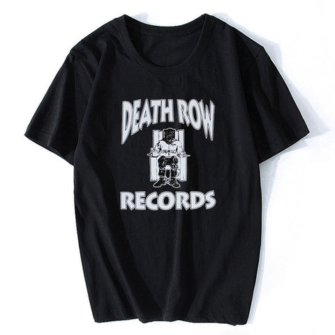 Death Row Records Tupac 2pac Dre Men's R.I.P T-Shirt