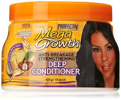 Mega Growth Anti-Breakage Strengthening Deep Conditioner - Hydrating Hair Mask, Restores & Repairs Damaged Fragile Hair, Revitalizes, Renews, Protects From Damage,...