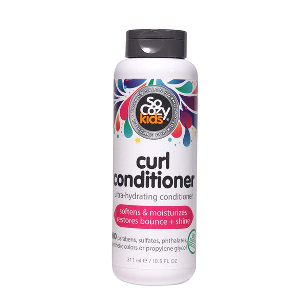 SoCozy Boing Curl Conditioner Sweet-Crème For Kids, No Frizz or Fuss, Curls Done Right, 10.5 Fluid Ounce