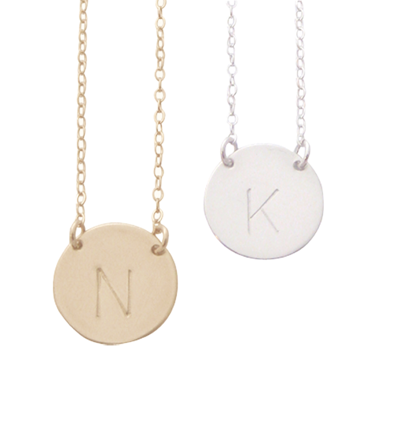 Misuzi Chloe Initial Necklace