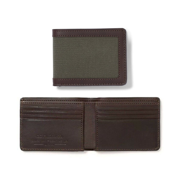Rugged Twill Outfitter Wallet – Otter Green