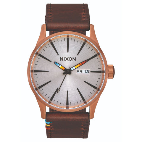 Sentry Leather 42mm - Copper Brown/Serape