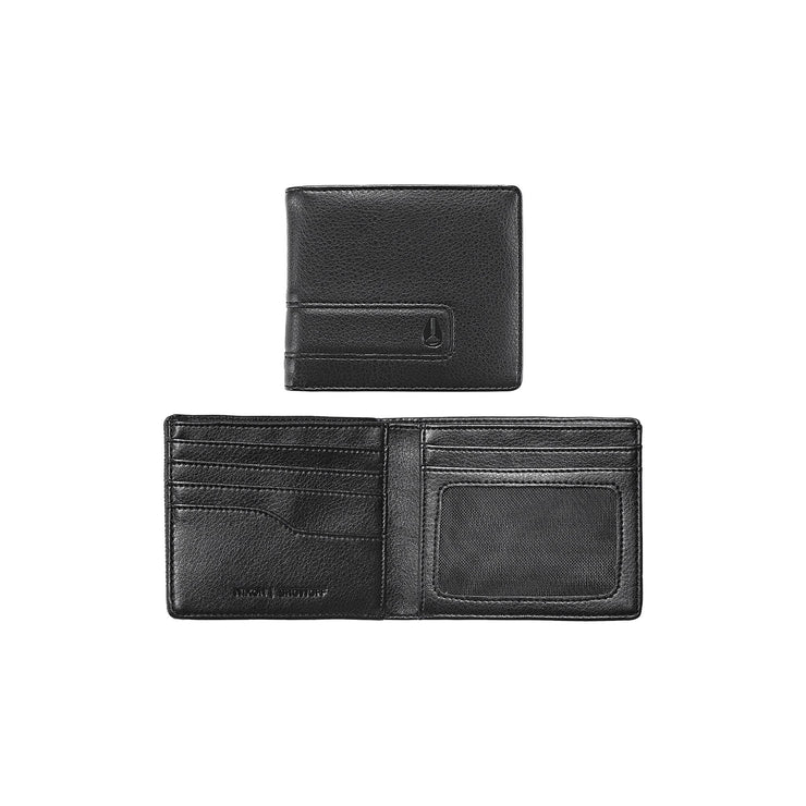 Showoff Bi-Fold Wallet - All Black