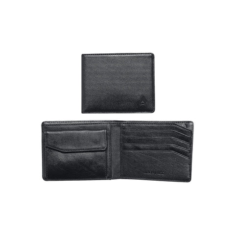 Arc Bi-Fold Wallet - All Black