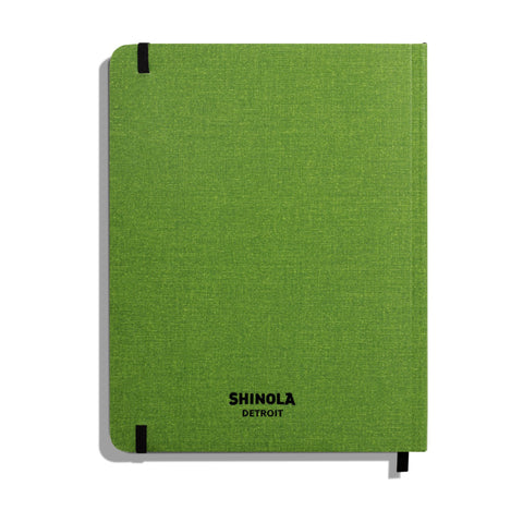 Large Soft Linen Ruled Journal – Arthichok