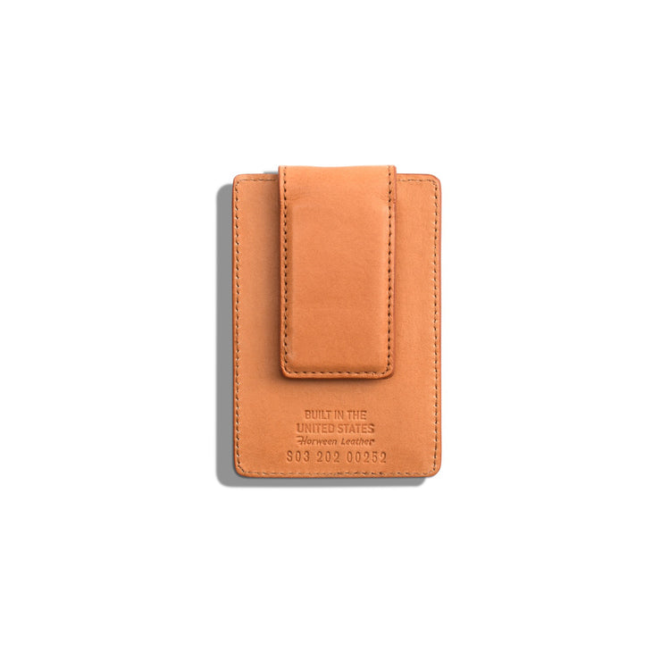 Magnetic Money Clip Card Wallet - Natural