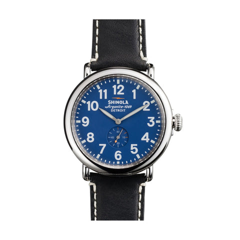 The Runwell 41mm, Blue/Black