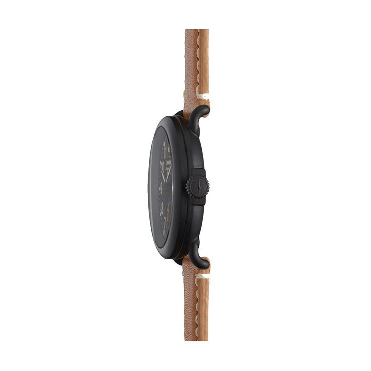 The Runwell 41mm, Black/Tan