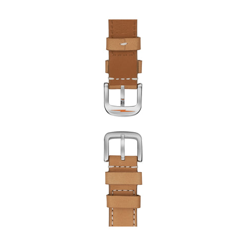 The Runwell 41mm, Brown/Grey Blue