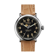 The Runwell 47mm, Black/Brown