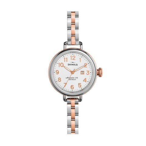 The Birdy 34mm, Rose Gold/Silver