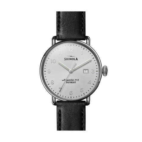 The Canfield 43mm, Black/White