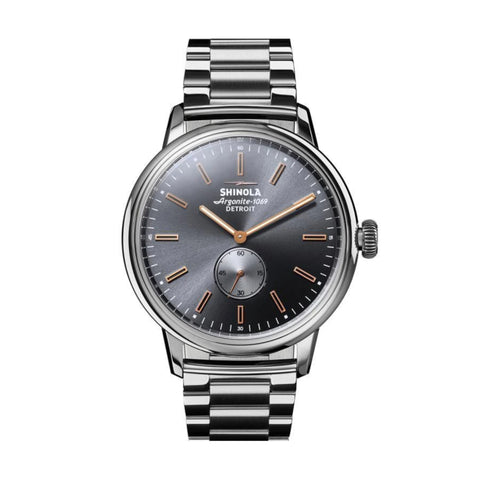The Bedrock 42mm, Grey/Silver